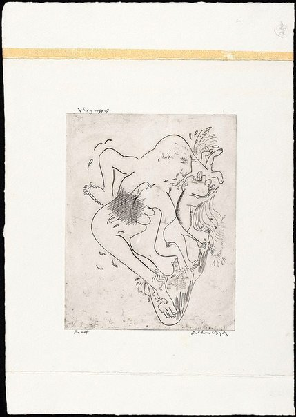 An image of (Illustration for 'Jonah' p.77) by Arthur Boyd