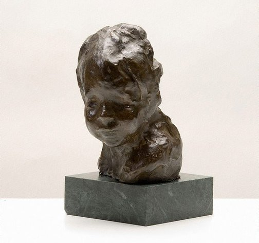 An image of The Jewish child by Medardo Rosso