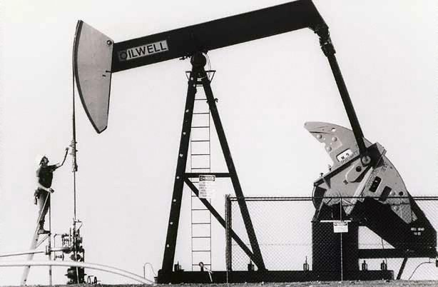 An image of Field production operator, Jim Forsyth, Jackson Oil Field