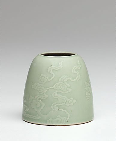 An image of Brush washer by Jingdezhen ware