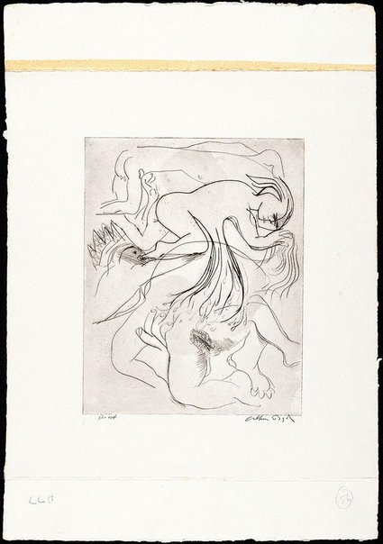 An image of (Illustration for 'Jonah' p.97) by Arthur Boyd