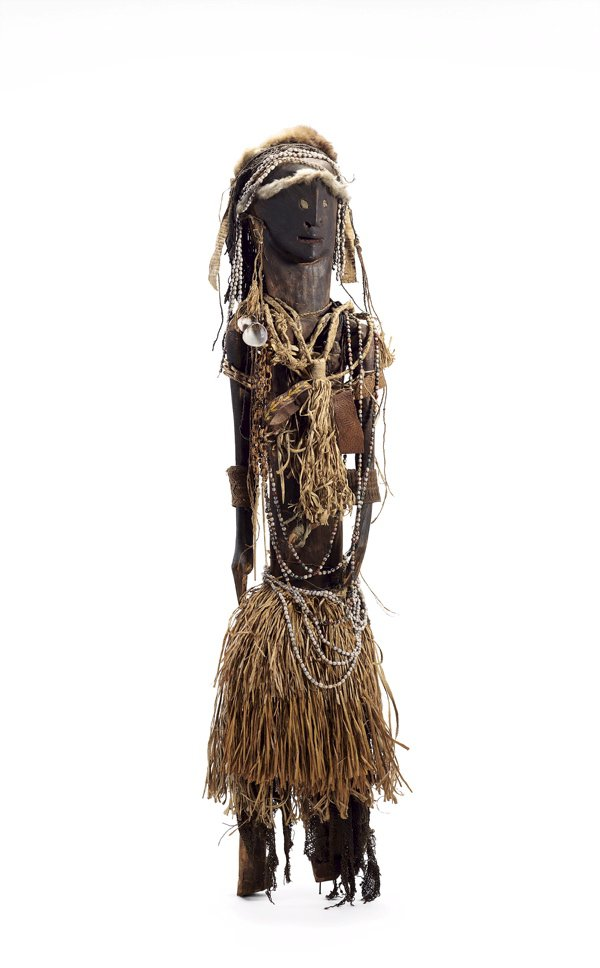 An image of Decorated female figure
