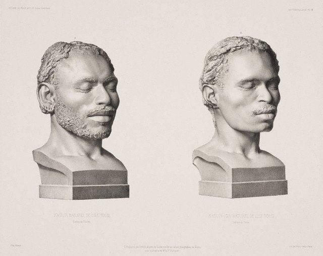 An image of Kaour & Kaour-Iga Natives of Torres Strait