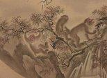 Alternate image of Monkey troop by Mori Sosen