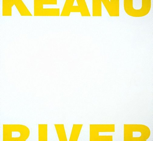 An image of Untitled (Keanu crying for River) by Scott Redford