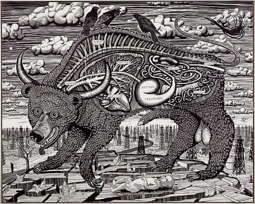 An image of Animal spirit by Grayson Perry
