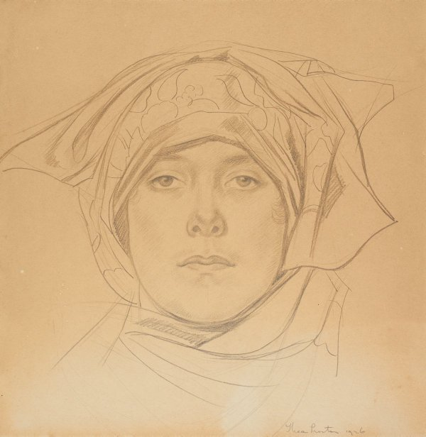 An image of Untitled (study for The Home: Xmas Number, 1st December 1926)