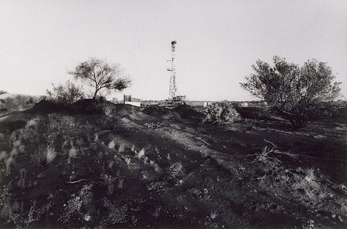 An image of S. & T. Rig 21, Jackson Oil Field by Philip Quirk