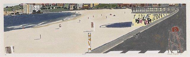 Bondi, (1987) by Cressida Campbell