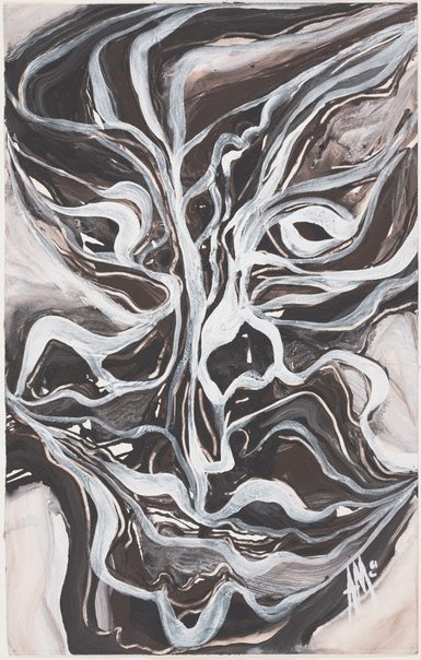 An image of Mask Series: River mask by Arthur McIntyre