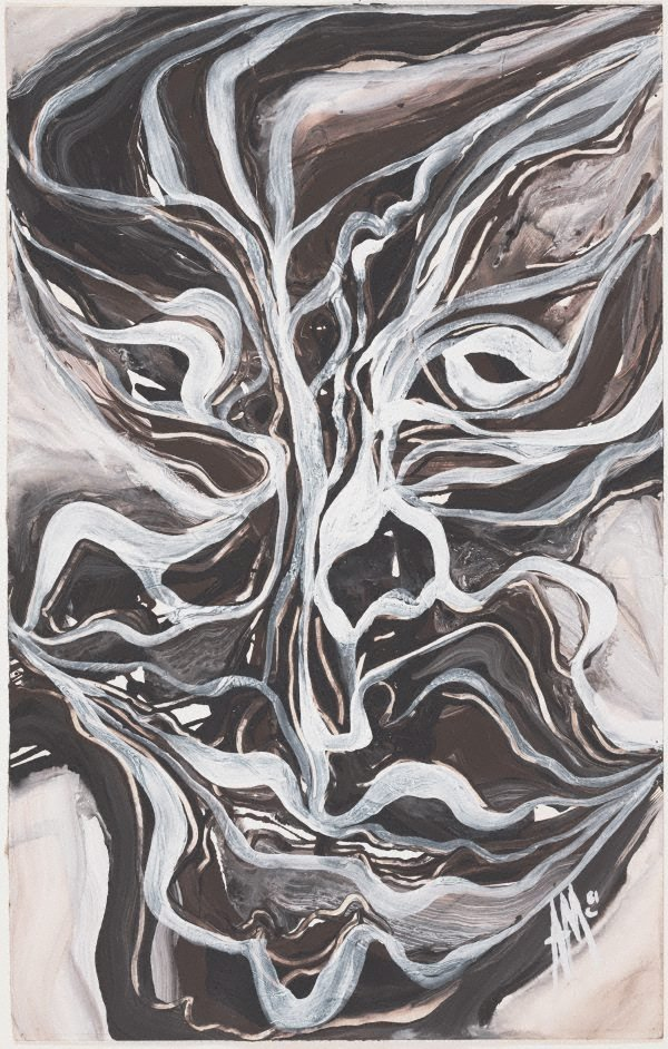 An image of Mask Series: River mask