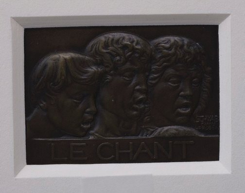 An image of The song by Andre Schwab, after Lucca della Robbia