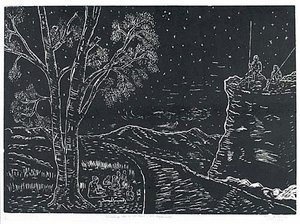 Christmas Eve in the land of the dispossessed, (1968, printed 1990) by Kevin Gilbert