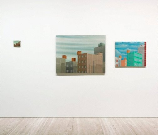 An image of New York triptych by Francis Alÿs
