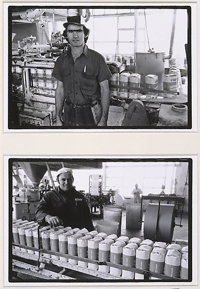 An image of Untitled (Double Portrait - Ante Peric) by Jon Rhodes