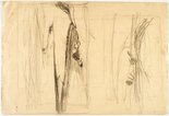 Alternate image of recto: Werri landscape verso: Landscape and Sketch by Lloyd Rees