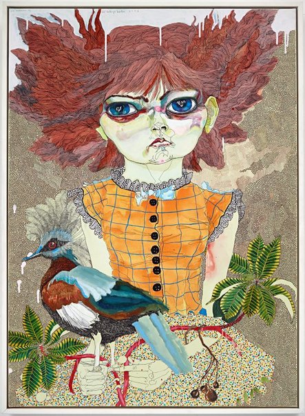 An image of girl #8 by Del Kathryn Barton