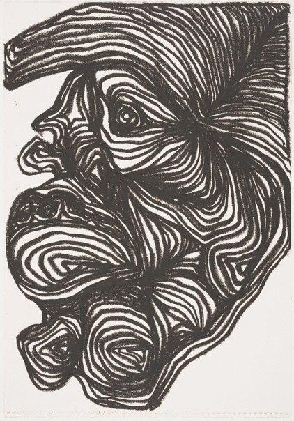 An image of Untitled head study III by Arthur McIntyre