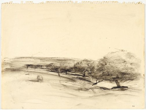 An image of Rural landscape (Kurrajong or Bathurst) by Lloyd Rees