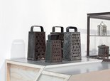 Alternate image of Untitled (graters, Victorian iron banks) by Haim Steinbach