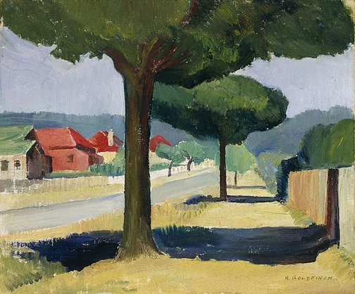 An image of Merrigang Street, Bowral by Nancy Goldfinch