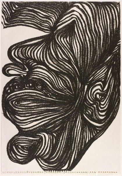 An image of Untitled head study IV by Arthur McIntyre