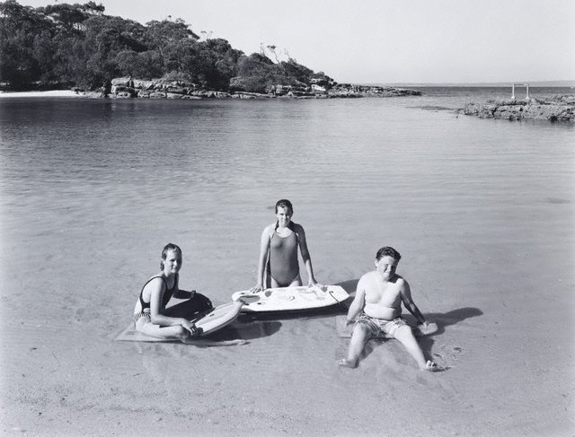 An image of Honeymoon Bay, Beecroft Peninsula