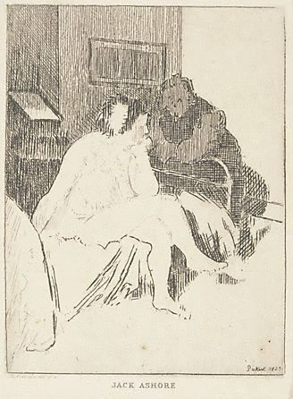 An image of Jack Ashore by Walter Richard Sickert