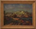 Alternate image of Gerringong landscape by Lloyd Rees