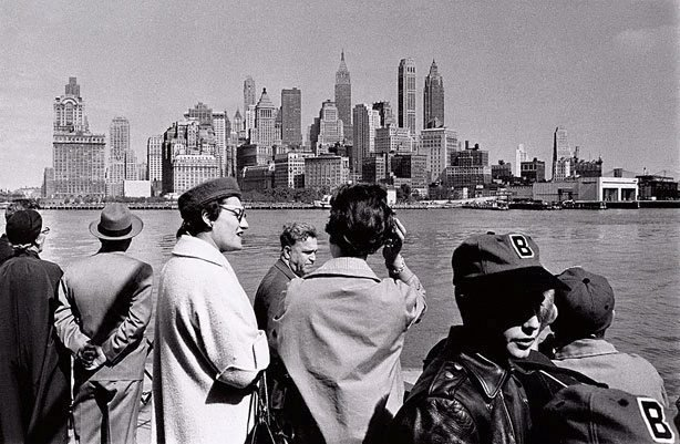 An image of On the Staten Island ferry, New York