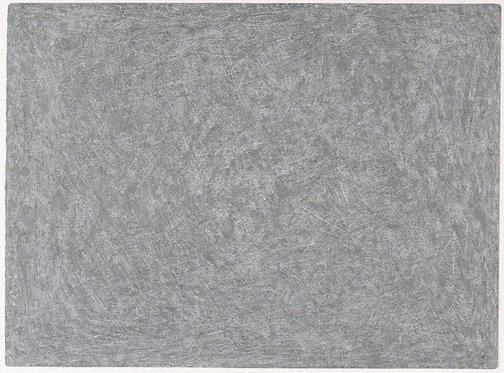 An image of Untitled (pale grey horizontal) by Allan Mitelman