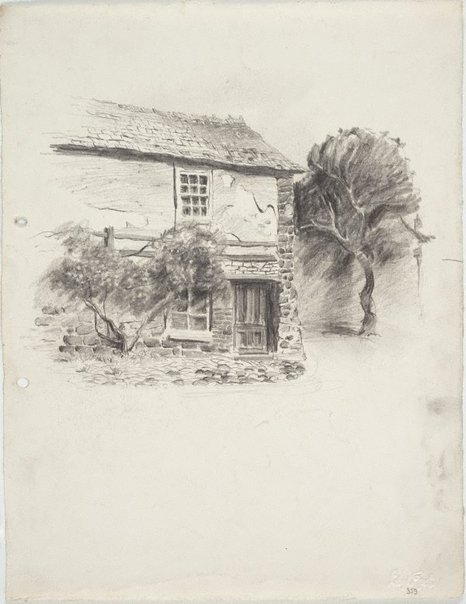 An image of Cornish house by Lloyd Rees