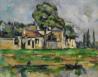 Banks of the Marne, (circa 1888) by Paul Cézanne