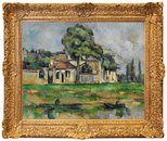 Alternate image of Banks of the Marne by Paul Cézanne