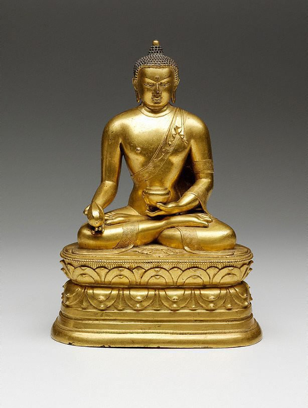 An image of Manla, the Medicine Buddha