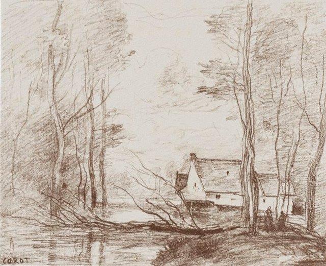 An image of The mill at Cuincy, near Douai