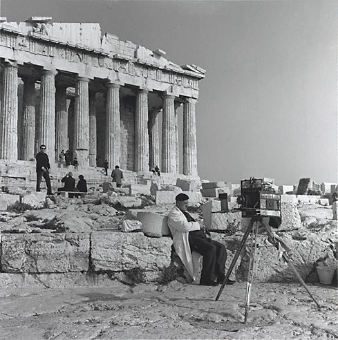 An image of Tintype photographer, Parthenon, Athens by John F Williams