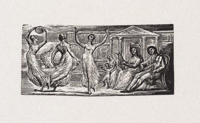 An image of Menalcas watching women dance
