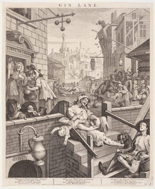 An image of Gin Lane