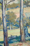 Alternate image of Through the gum trees, Toongabbie by Hilda Rix Nicholas