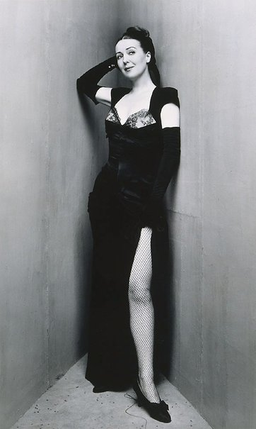An image of Gypsy Rose Lee, New York by Irving Penn