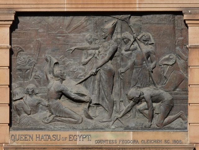 An image of Queen Hatasu of Egypt