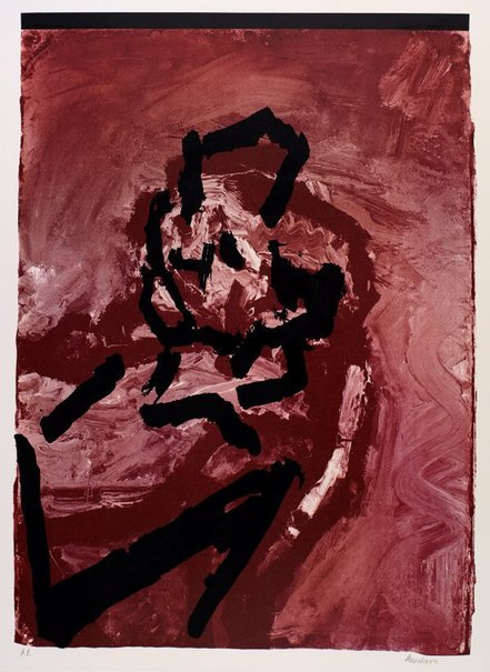 An image of Head by Frank Auerbach