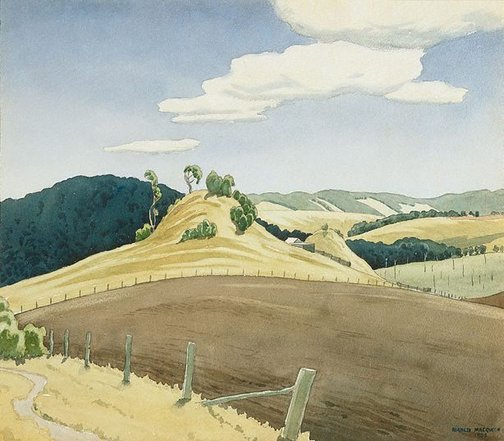 An image of Twin hills by Kenneth Macqueen