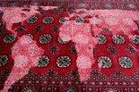 Alternate image of Bukhara (red) by Mona Hatoum