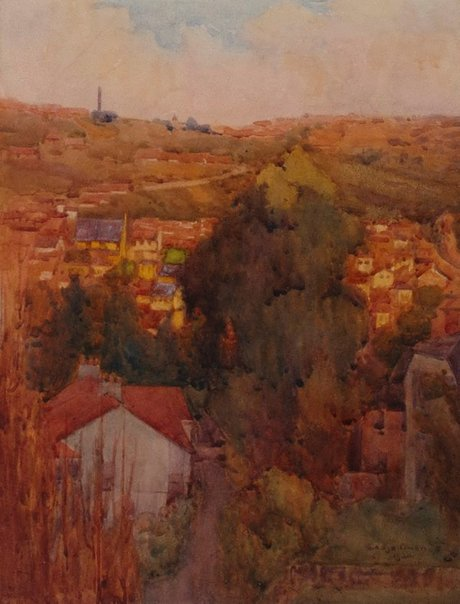 An image of Late afternoon, Bellevue Hill by Gladys Owen