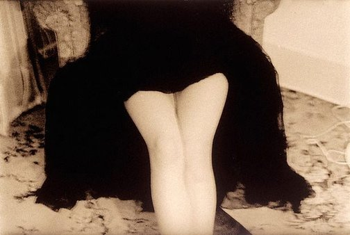 An image of Untitled (seated woman in skirt) by Robert Besanko