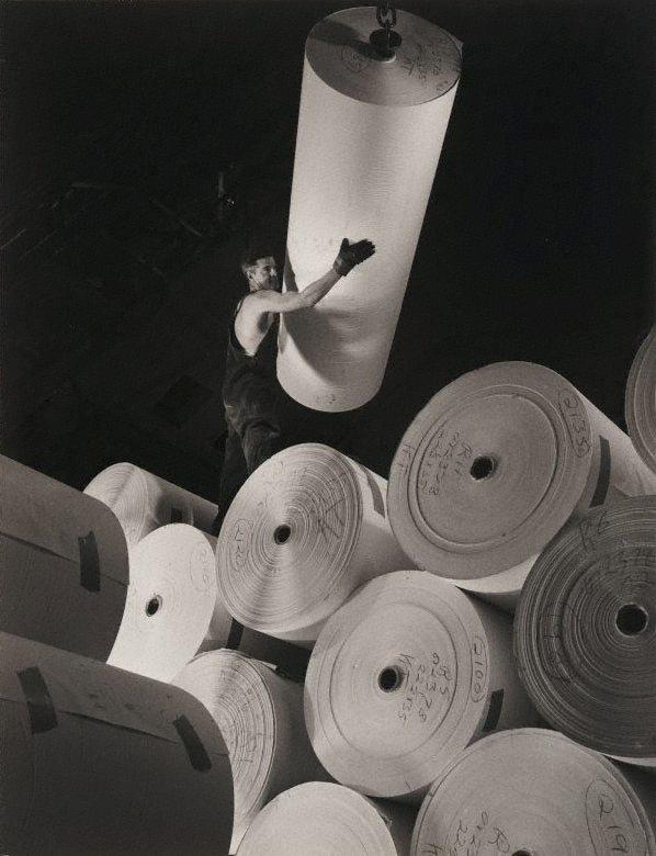 An image of Australian Paper Pulp Mills, Burnie, Tasmania
