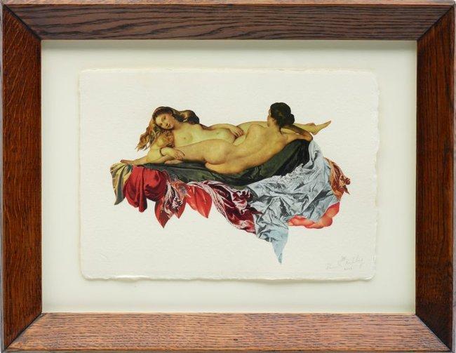 AGNSW collection Deborah Kelly Venus variations #1 2015