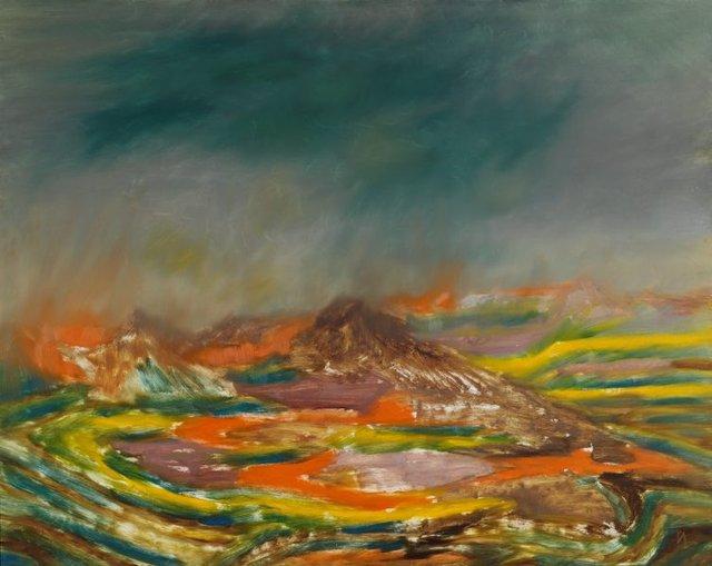 An image of Desert landscape